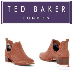 🆕️ Ted Baker Twillo Suede Low Heel Bootie